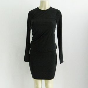 T Alexander Wang Long Sleeve Bodycon Dress XS